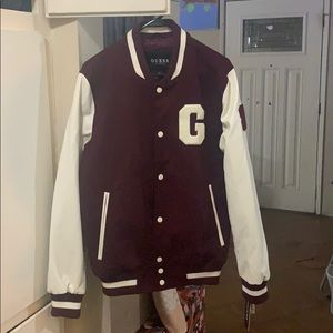 Really cool jacket, more like a wine color !!